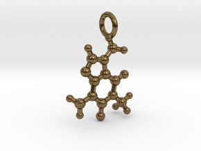 Caffeine BAS With Ring in Polished Bronze