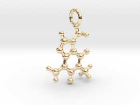 Caffeine BAS With Ring in 14K Yellow Gold