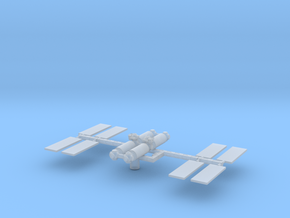 1/1000 Scale Space Station Freedom in Smooth Fine Detail Plastic
