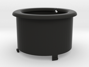 WireWrap Cylinder Of The SmartDock in Black Strong & Flexible