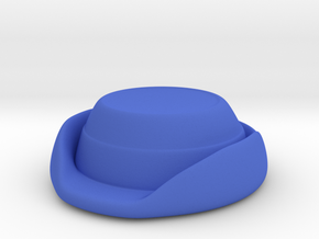 Wrens Hat in Blue Strong & Flexible Polished