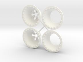 Weld Forged Delta1 Slick 1/18 in White Processed Versatile Plastic