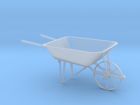 Wheelbarrow in Smooth Fine Detail Plastic: 1:24