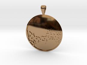 Venus in Polished Brass