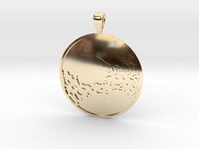 Venus in 14K Yellow Gold