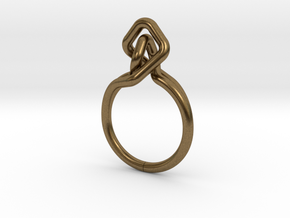 A-LINE Dancing D.02,US size 5.5, d=16mm in Natural Bronze: 5.5 / 50.25