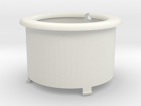 WireWrap Cylinder Of The SmartDock  for AppleWatch in White Natural Versatile Plastic