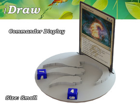 Commander Display Temur in White Strong & Flexible: Small