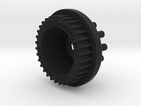 LHB 10mm 32T Wheel Pulley For Orangutan Kegals in Black Strong & Flexible
