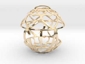 Gia Lovaball in 14k Gold Plated Brass