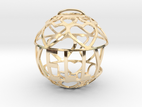 Kelly Lovaball in 14k Gold Plated Brass