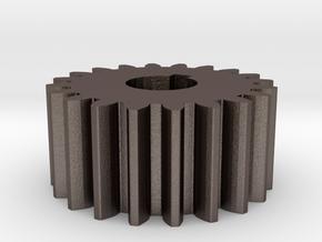 Cylindrical gear Mn=1 Z=20 AP20° Beta0° b=10 HoleØ in Stainless Steel