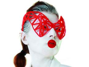 Alecto Visor in Red Processed Versatile Plastic