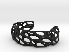 Porous Cuff in Black Natural Versatile Plastic: Large