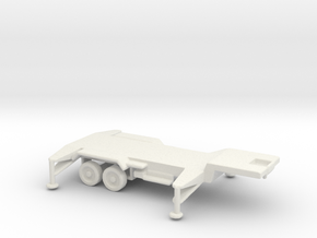 1/200 Scale Patriot Missile Trailer in White Natural Versatile Plastic