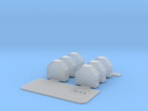 ZPU4 Ammo Bins in Frosted Ultra Detail