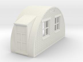 N-76-back-end-brick-nissen-hut-2-doors-1a in White Natural Versatile Plastic