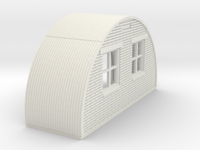 N-76-back-end-brick-nissen-hut-16-36-1a in White Natural Versatile Plastic
