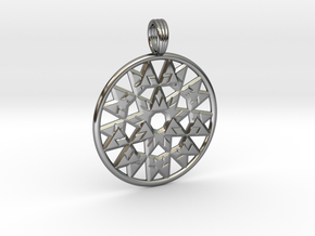 VORTEXIUM in Fine Detail Polished Silver