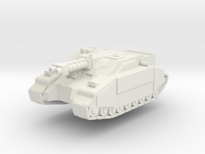 Super STUG II in White Natural Versatile Plastic