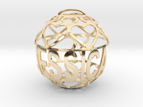 Jessica Lovaball in 14k Gold Plated Brass