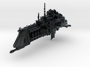 "Imperial Navy ""Lunar"" Cruiser in Black Hi-Def Acrylate"