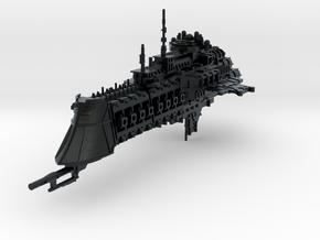 "Imperial Navy ""Dominator"" Cruiser in Black Hi-Def Acrylate"