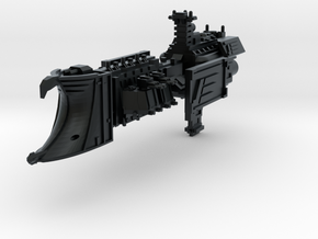 "Imperial Navy ""Endurance"" Light Cruiser in Black Hi-Def Acrylate"