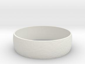 Europa Bracelet in White Natural Versatile Plastic