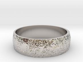 Moon Bracelet in Rhodium Plated Brass