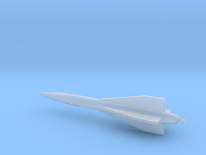 1/110 Scale Hawk Missile in Smooth Fine Detail Plastic