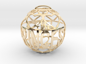 The Princess Lovaball in 14k Gold Plated Brass