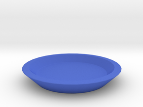 Infinitely Versatile Game Piece  in Blue Strong & Flexible Polished