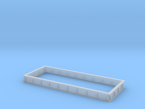 1/64 20 Foot Grain Bed Side Extension in Smooth Fine Detail Plastic