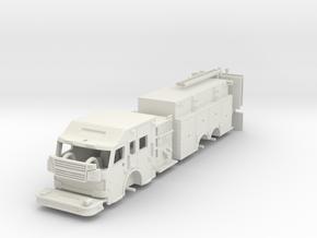 Rosenbauer 1/64 Pumper Tanker Raised Roof in White Natural Versatile Plastic