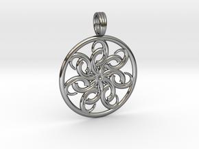 SISTER SEASTAR in Fine Detail Polished Silver