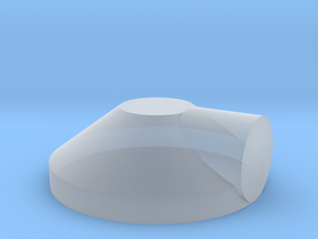 1/16 electric cable exit cover in Smooth Fine Detail Plastic