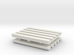 MOF Roof - Sides(10) in White Natural Versatile Plastic