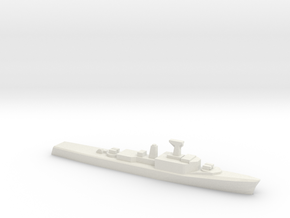 St. Laurent-class DDE (1955), 1/1800 in White Natural Versatile Plastic