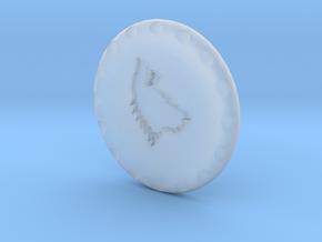 Golf Ball Marker House Stark in Smooth Fine Detail Plastic
