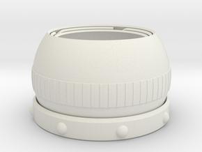 Blinkin Iris Goggle: Eyeball4 Goggle in White Natural Versatile Plastic