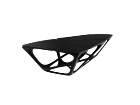 Mesa Table - Zaha Hadid in White Strong & Flexible: 1:24