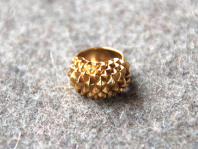 Ring Studs Bolder in 14k Gold Plated Brass