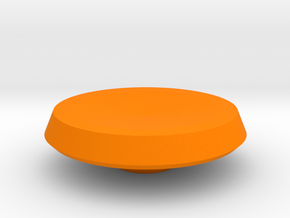 BroConcepts Button 2 in Orange Processed Versatile Plastic
