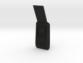 Communicator, Open (Star Trek Classic), 1/6 in Black Natural Versatile Plastic