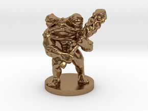 Toad Warrior for Dungeons and Dragons in Natural Brass