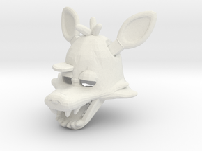Custom Wolf in White Natural Versatile Plastic