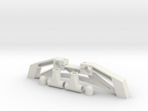 Multicopter Landing Gear in White Natural Versatile Plastic