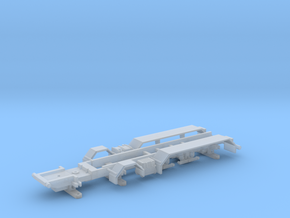 ZM Chassis 5a Scania in Smooth Fine Detail Plastic