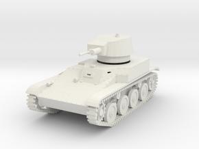 PV147A 4TP Light Tank (28mm) in White Natural Versatile Plastic